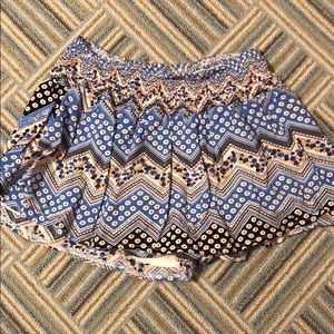 Rumor Boutique Skirts - Rumor boutique patterned skirt
